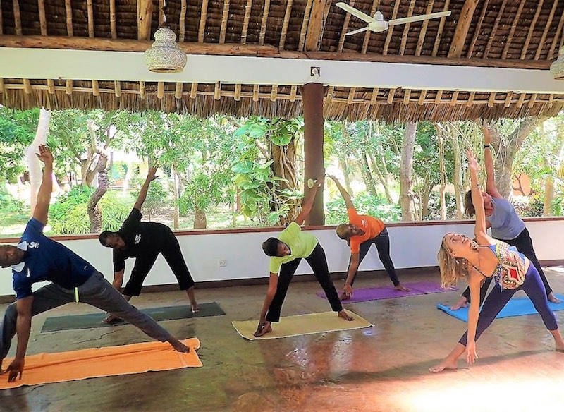 group yoga retreat in Kenya by Pure You Wellness